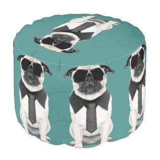 Cool Pug Pouf