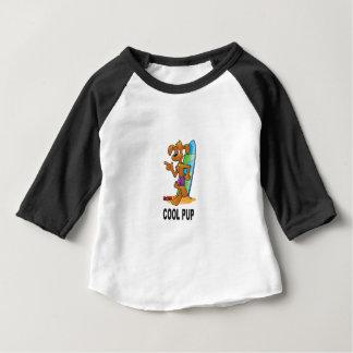 cool pup at beach baby T-Shirt