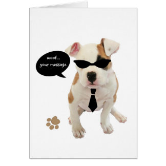 Cool pup card