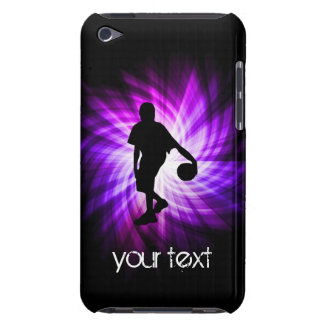 Cool Purple Basketball iPod Touch Cases