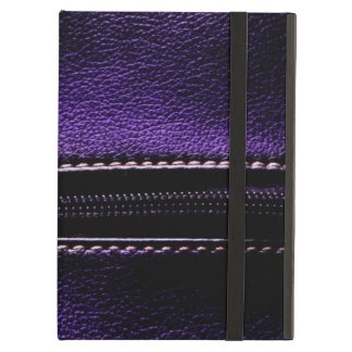 Cool Purple Leather Zipper Cases iPad Air Covers