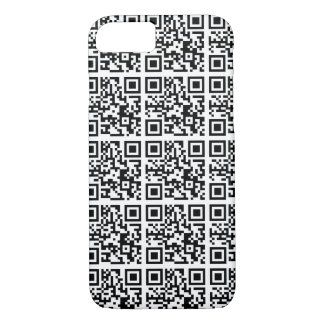 Cool QR Code Animal Conservation iPhone 7 Case