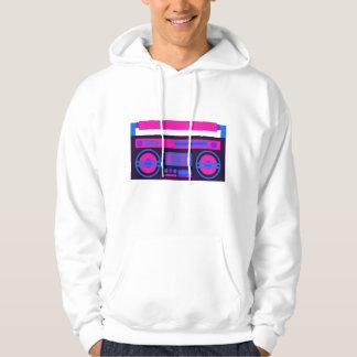 cool radio music hooded sweatshirt