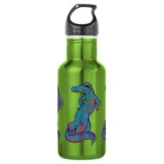 Cool Rainbow Gator 532 Ml Water Bottle