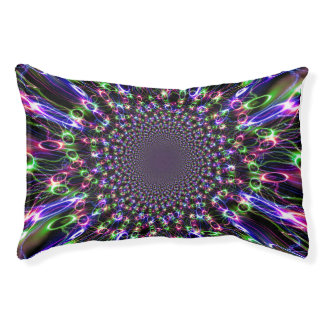 Cool Rainbow Spectacular Dog Bed