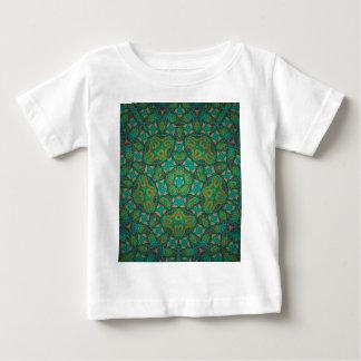 Cool Rainforest Green Print Baby T-Shirt