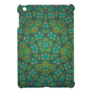 Cool Rainforest Green Print Cover For The iPad Mini