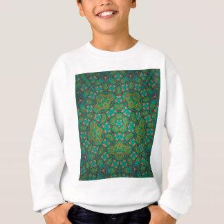Cool Rainforest Green Print Sweatshirt