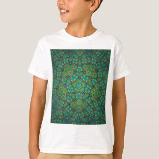 Cool Rainforest Green Print T-Shirt