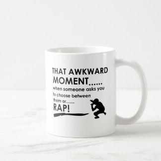 Cool Rap  designs Basic White Mug