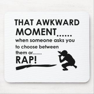 Cool Rap  designs Mouse Pad