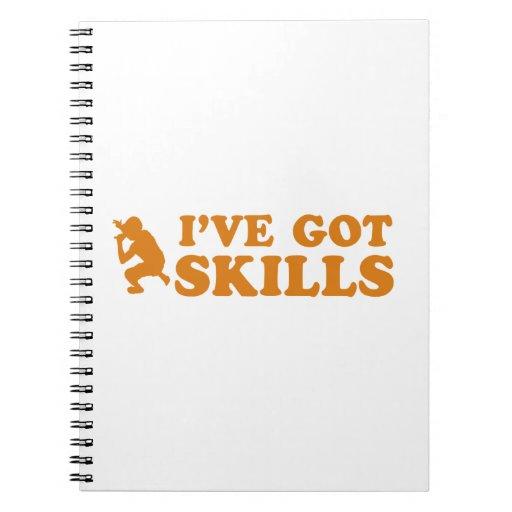 cool rap skills designs note book