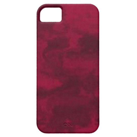 Cool red abstract marble texture background case for the iPhone 5