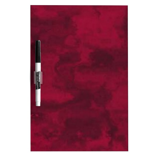 Cool red abstract marble texture background dry erase board