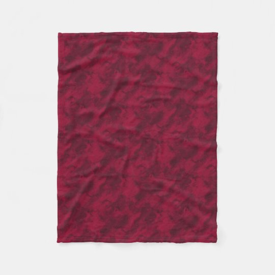 Cool red abstract marble texture background fleece blanket
