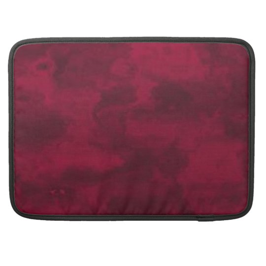 Cool red abstract marble texture background sleeve for MacBook pro
