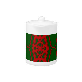 Cool Red Green Christmas Pattern