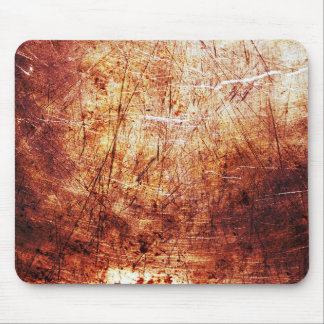 Cool Red Rust texture Background Mouse Pad
