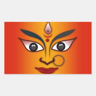 Cool religion face Indian mask goddess
