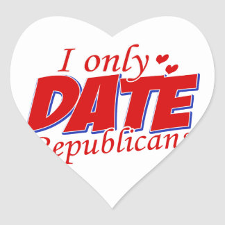 Cool Republican Party designs Heart Sticker