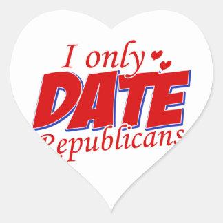 Cool Republican Party designs Heart Sticker