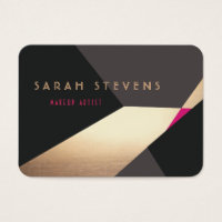 Hairdresser business cards business card printing zazzle ca standard sized business cards cool retro abstract gold makeup artist modern colourmoves