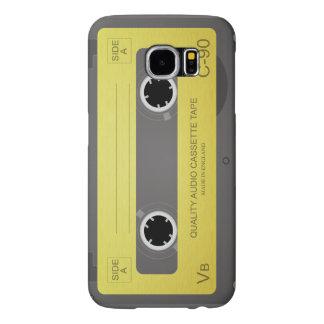 Cool Retro cassette Design Samsung Galaxy S6 Cases