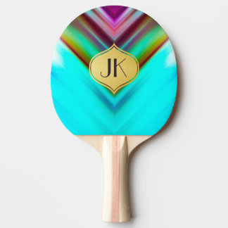 Cool, Retro & Edgy Reflections No. 13 Ping Pong Paddle