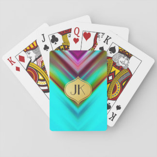 Cool, Retro & Edgy Reflections No. 13 Playing Cards