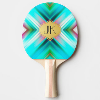 Cool, Retro & Edgy Reflections No. 15 Ping Pong Paddle