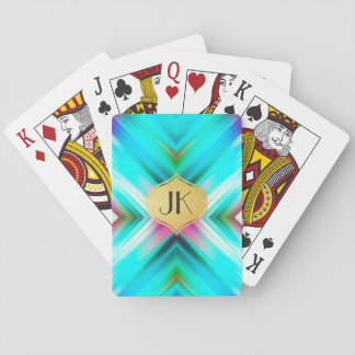 Cool, Retro & Edgy Reflections No. 15 Playing Cards