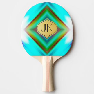 Cool, Retro & Edgy Reflections No. 16 Ping Pong Paddle