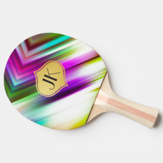 Cool, Retro & Edgy Reflections No. 17 Ping Pong Paddle