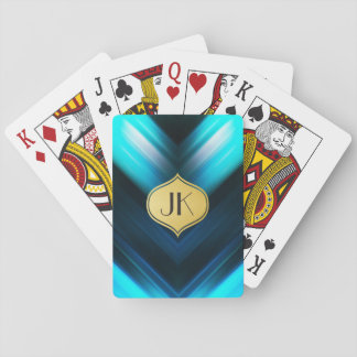 Cool, Retro & Edgy Reflections No. 1 Playing Cards