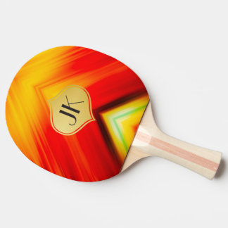 Cool, Retro & Edgy Reflections No. 20 Ping Pong Paddle