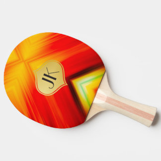 Cool, Retro & Edgy Reflections No. 21 Ping Pong Paddle