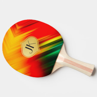 Cool, Retro & Edgy Reflections No. 23 Ping Pong Paddle