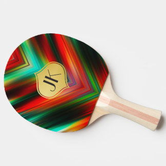 Cool, Retro & Edgy Reflections No. 25 Ping Pong Paddle