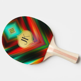 Cool, Retro & Edgy Reflections No. 28 Ping Pong Paddle