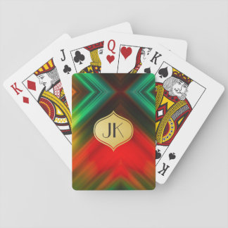 Cool, Retro & Edgy Reflections No. 33 Playing Cards