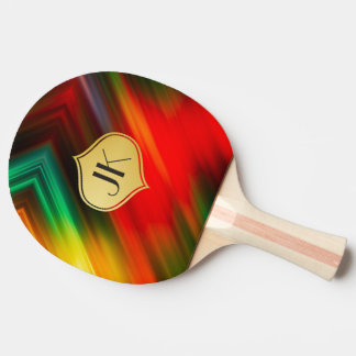 Cool, Retro & Edgy Reflections No. 36 Ping Pong Paddle