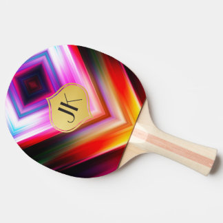 Cool, Retro & Edgy Reflections No. 40 Ping Pong Paddle