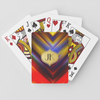 Cool, Retro & Edgy Reflections No. 43 Playing Cards