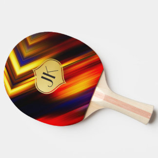 Cool, Retro & Edgy Reflections No. 47 Ping Pong Paddle