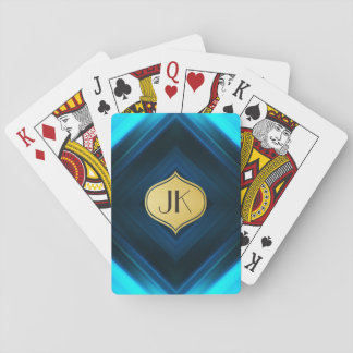 Cool, Retro & Edgy Reflections No. 4 Playing Cards