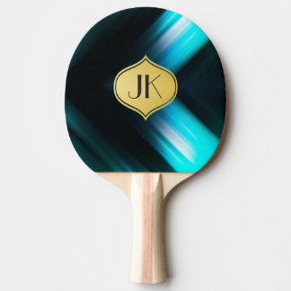 Cool, Retro & Edgy Reflections No. 5 Ping Pong Paddle
