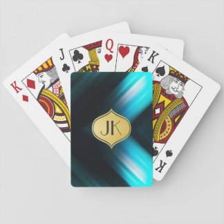 Cool, Retro & Edgy Reflections No. 5 Playing Cards