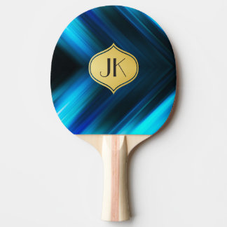 Cool, Retro & Edgy Reflections No. 6 Ping Pong Paddle