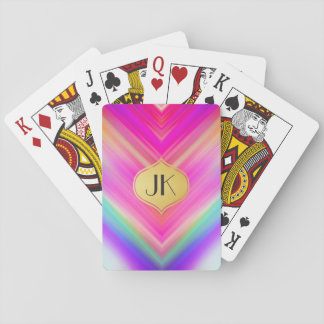 Cool, Retro & Edgy Reflections No. 7 Playing Cards