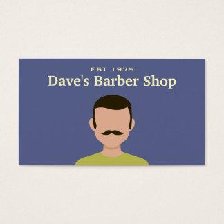 Cool Retro Vintage Barber Shop Business Card